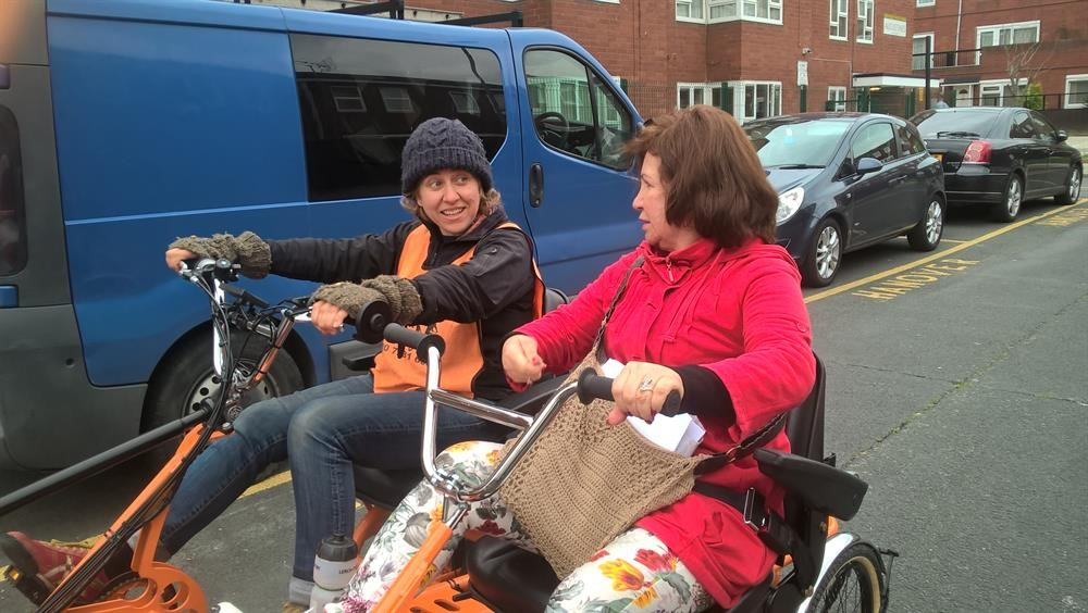 Active travel and chat Bikeworks CIC