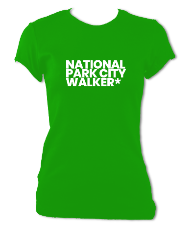 walker ladies fitted green